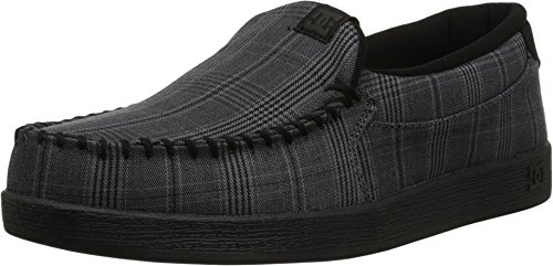 DC Men's Villain TX SE Skate Shoe, Black/Armor, 7 M US