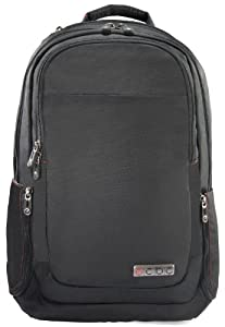 ECBC Harpoon Daypack for 17-Inch Laptop, Black