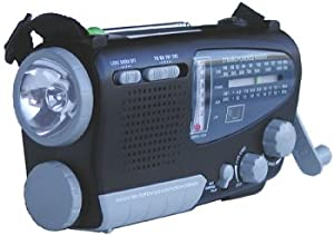 Kaito KA888 4-way Powered Emergency Radio