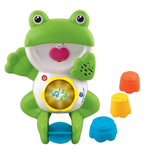Vtech Pour And Float Froggy Electronic Bath Toy front-62447