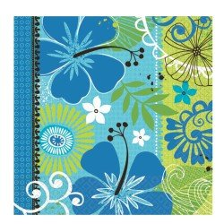 Tropical Breeze Beverage Napkins Party Accessory - 1