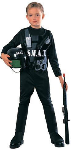 Child SWAT Team Costume - Medium 8-10