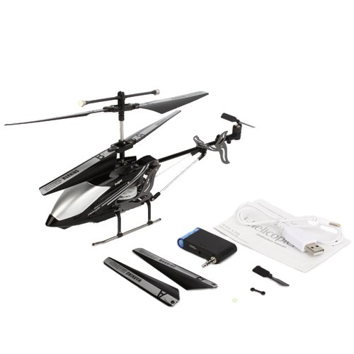 3.5 Channels Mini Helicopter (With Gyro) Black