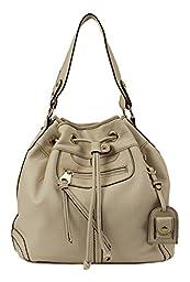 Scarleton Large Drawstring Handbag H107802 - Ivory