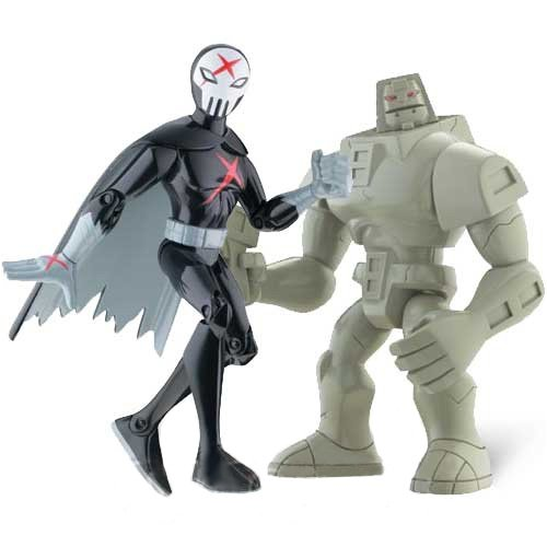 teen-titans-35-action-figure-2pack-cinderblock-red-x