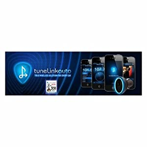 New Potato Technologies TuneLink Auto Bluetooth in Car Stereo Wireless Adapter for iPhone, iPod Touch, iPad - (Black) - 1001-01002 Portable Consumer Electronics Home Gadget by Consumer Electronics Store
