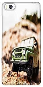 Snoogg 4X4 Offroad Car Designer Protective Back Case Cover For Xiaomi Mi4I / ...