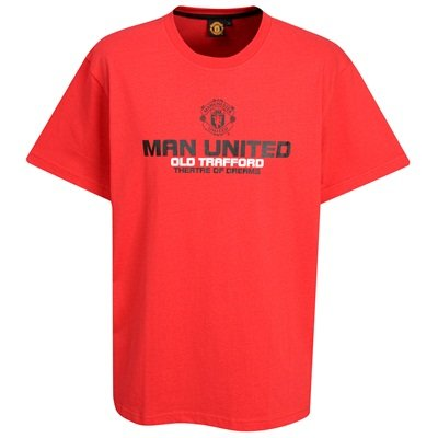 OFFICIAL MANCHESTER UNITED CRESTED RED THEATRE