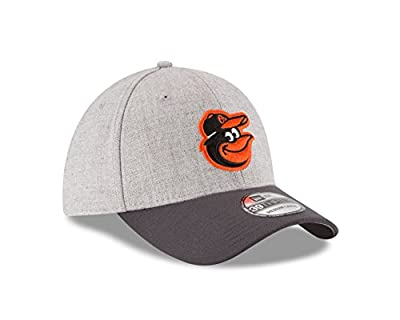 MLB Baltimore Orioles Gray Change Up Classic 39Thirty Stretch Fit Cap
