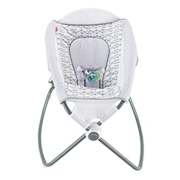 Fisher-Price Auto Rock n Play Sleeper, Aqua Stone