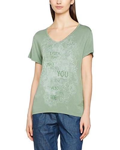 DEHA Camiseta Manga Corta Verde Medio