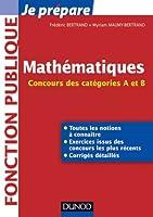 Mathématiques - Concours des catégories A et B