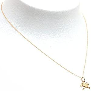 14K Gold Firefighter Axes & Hat Charm Chain Jewelry