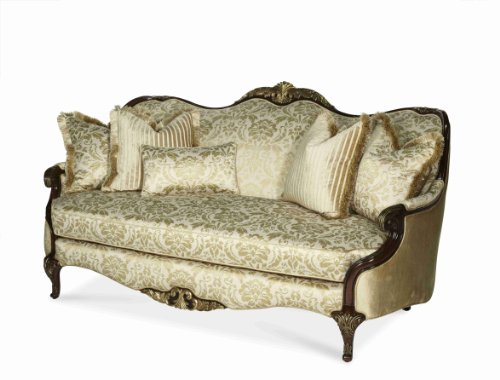 AICO Imperial Court GRP1/OPT1 Wood Trim Sofa 79815-CHPGN-40 (Sofa With Wood Trim compare prices)