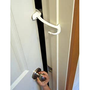 Door Monkey, Childproof Door Lock & Pinch Guard from Door Monkey