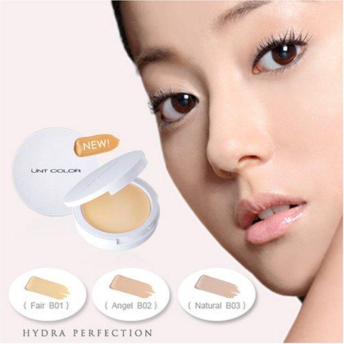UNT Hydra Perfection Cream to Powder Foundation Compact (B02 Angel)