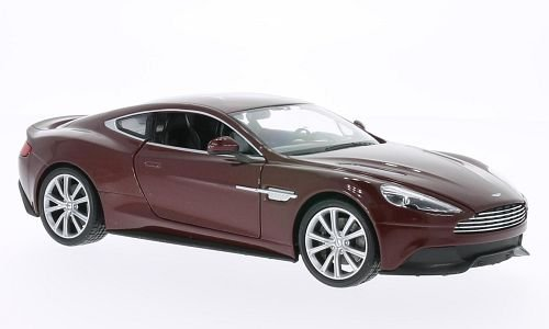 aston-martin-vanquish-metallic-rouge-fonce-voiture-miniature-miniature-deja-montee-welly-124