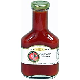 Hollow Sugar Free Ketchup Sweetened with Xylitol 10 oz bottle: Amazon.com