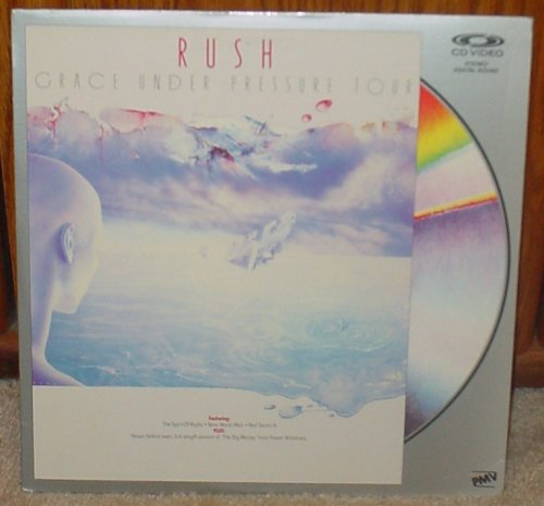 Rush: Grace Under Pressure Tour LASERDISC CD VIDEO (Grace Under Pressure Tour compare prices)