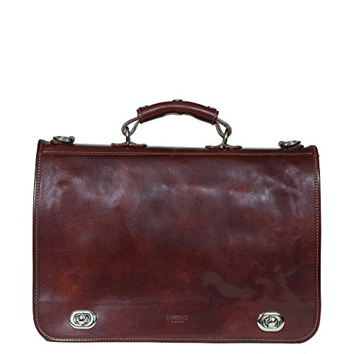 i-medici-cartella-nottolini-italian-leather-briefcase-messenger-bag-in-brown