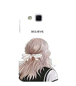 EPICCASE Believe In yourself Mobile Back Case Cover For Samsung Galaxy J3 (Designer Case)