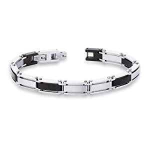 Peora Valentine Men 316L Stainless Steel Bracelet PSB728 available at Amazon for Rs.2400