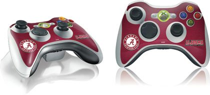 Skinit University of Alabama Seal Vinyl Skin for 1 Microsoft Xbox 360 Wireless Controller