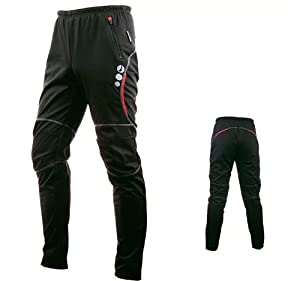Mens Windproof Cycling Casual Pants for Autumn and Spring by Mountainpeak