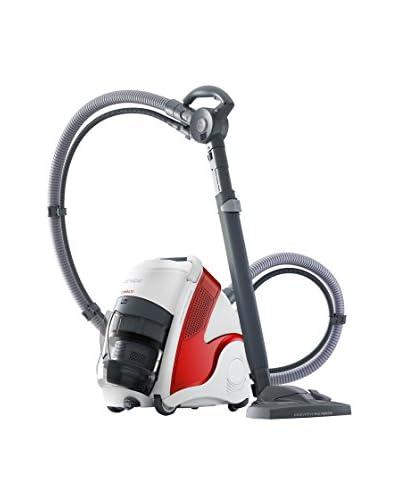 POLTI  Pulitore a Vapore/Aspiratore Unico Mcv50 Allergy Multifloor Turbo Bianco/Rosso