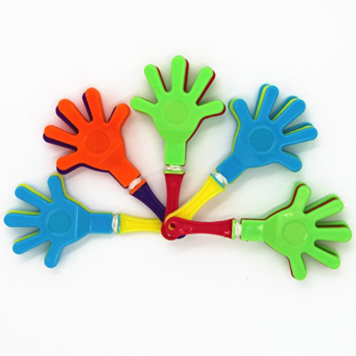 Why Choose MICHLEY 3.5-inch Plastic Hand Clappers, pack of 10