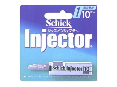 シック インジェクター 替刃10枚入り Sー10