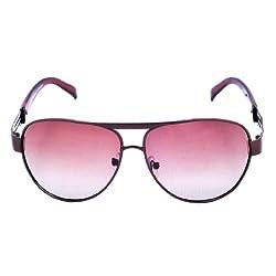 Riyan Aviator Brown Sunglasses(Riyan-14)