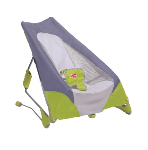Best Review Of Tiny Love Take Along Bouncer, Green