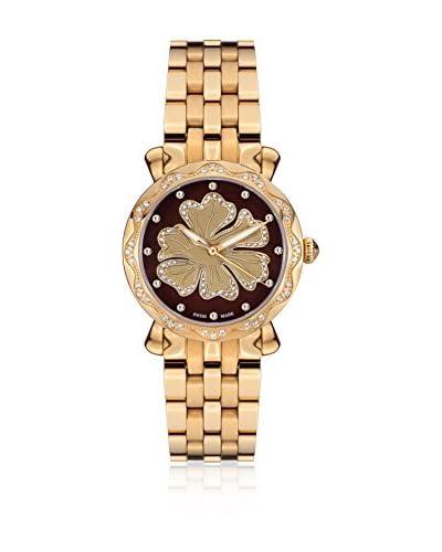 Mathieu Legrand Reloj de cuarzo MLG-2101C Dorado 30 mm