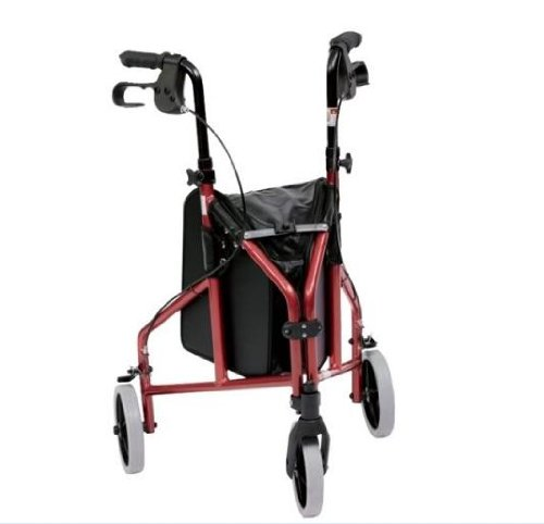 Ultra Lightweight Aluminium 3 Wheel Walker