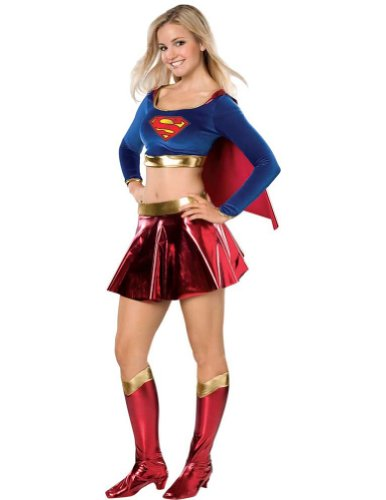 Supergirl Sexy Teen Std Adult Womens Costume - Rubies Co. Inc.