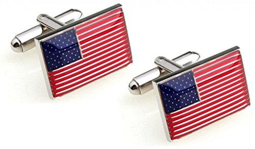 USA United States Flag Logo Cufflinks - Presidential