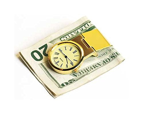 BrandsonSale Watches weekly special: Steinhausen Time N Money Clip (Gold/Yellow Dial)