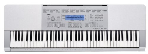 Casio Wk-225 76-Key Touch Sensitive Keyboard With Power Supply front-829365