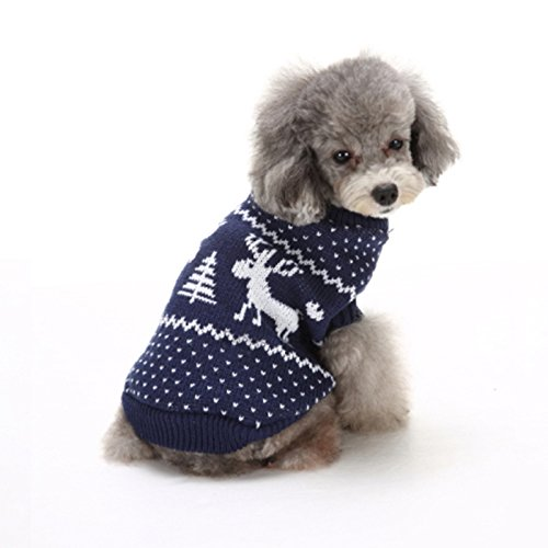 Christmas Pet Dog Sweater