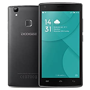 DOOGEE X5 MAX Pro Smartphone 4G FDD-LTE 3G WCDMA MTK6737 64-bit 5.0 Inches IPS HD 1280 * 720 Pixels Screen Android 6.0 2G+16G 8MP+8MP Dual Cameras