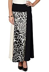 All-Day by Brinley Co. Womens Tonal A-line Skirt