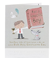 Special Boy Communion Card