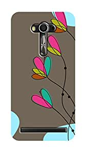 SWAG my CASE PRINTED BACK COVER FOR ASUS ZENFONE 2 LASER ZE 550KL Multicolor