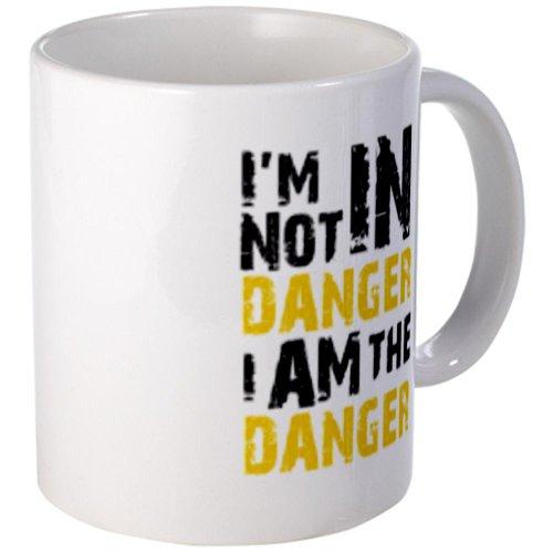 Cafepress Breaking Bad: I Am The Danger Mug - S White