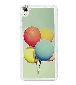 Balloons 2D Hard Polycarbonate Designer Back Case Cover for HTC Desire 826 Dual Sim