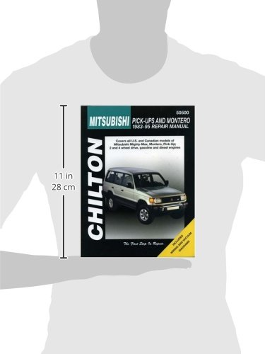 Mitsubishi Shogun and L200 Pick-up Including Twin-cab (1983-95) (Chilton Total Car Care)