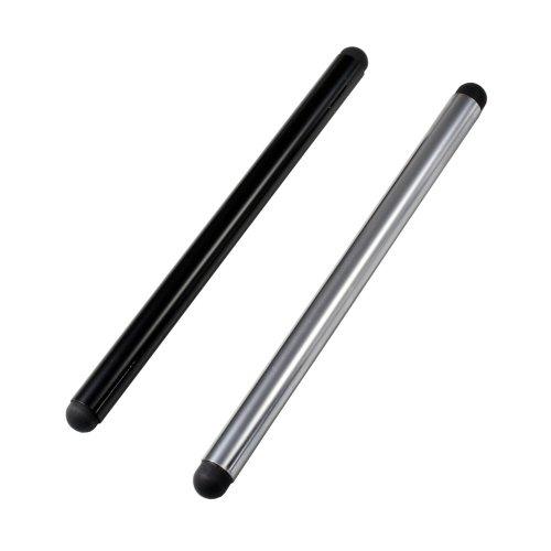 Eingabestift für Samsung Rex60 GT-C3310 (2er Pack, silber schwarz)