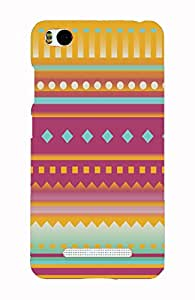 Back Cover for Xiaomi Mi4i Abstract aztec
