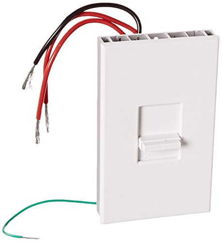 Hubbell AS103 Slide Dimmer, 3 Way, 1000W, White (1000 Watt 3 Way Dimmer Switch compare prices)
